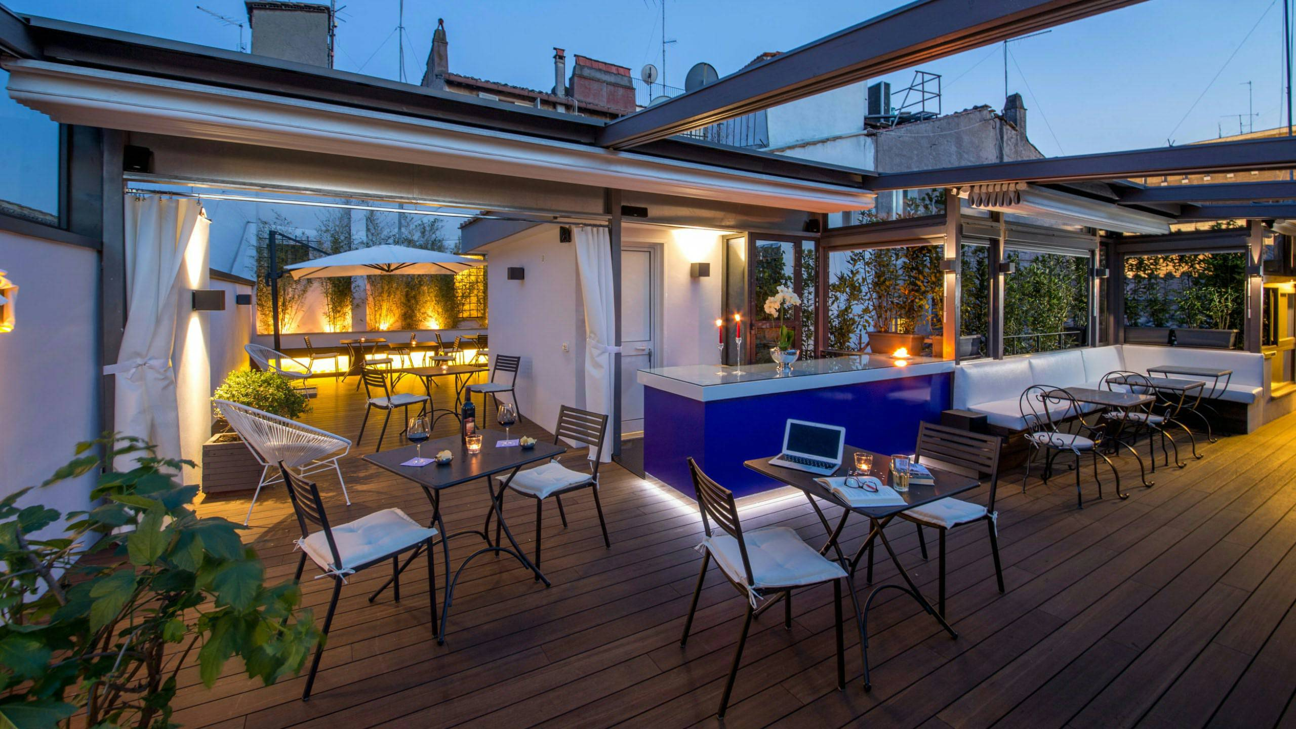 Best suites in terrazza roma photos modern home design for Top design hotels rome